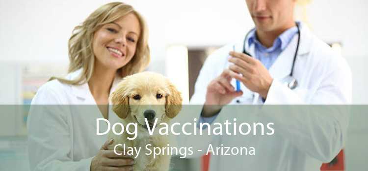 Dog Vaccinations Clay Springs - Arizona