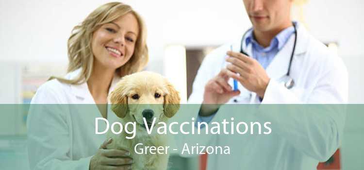 Dog Vaccinations Greer - Arizona