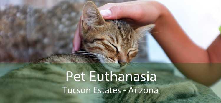 Pet Euthanasia Tucson Estates - Arizona